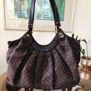 Louis Vuitton Lin Idylle Fantaise Brown Hobo Bag